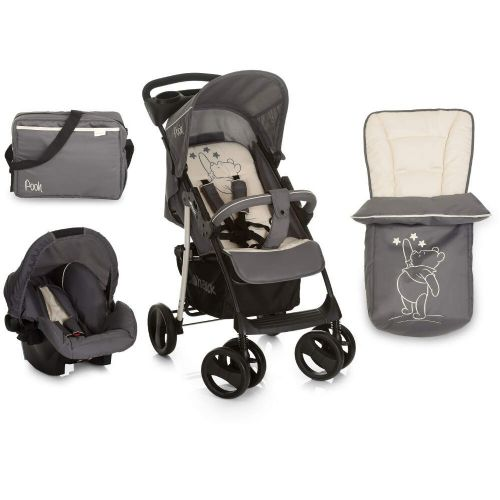 NEW Hauck Disney Winnie the Pooh Star Travel System shopper pushchair pram SET